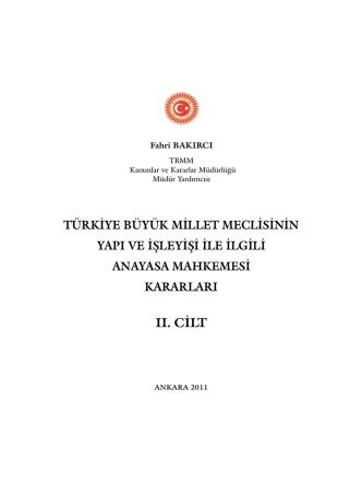 2. cilt - Türkiye Büyük Millet Meclisi