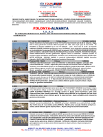 POLONYA-ALMANYA - Yiv Tour Turizm Seyahat Acentası