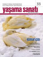 YAŞAMA SANATI I - Turgut Özal Üniversitesi