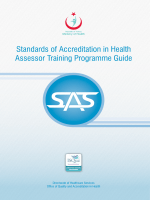 SAS Assessor Training Programme Guide