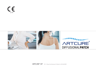 ARTCURE® DP CE - Class IIa (Annex II, Rule 2), 93/42/EEC 2179