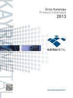 Ürün Kataloğu Product Catalogue