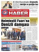 Gazete 45 - Denizli Ticaret Odası