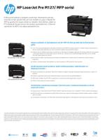 HP LaserJet Pro M127/ MFP serisi