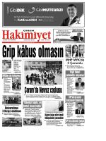 3 Mart Qxd Corum Hakimiyet Gazetesi