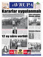 Hazine garantisi var mı? - Avrupa Gazetesi | Tekirdağ