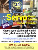 Broşür PDF - Daye Endüstriyel Otomasyon Çözümleri