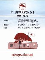 KONUŞMA ÖZETLERİ - Türk Karaciğer Araştırmaları Derneği
