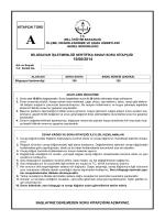 bilgisayar işletmenlik sertifika sınavı (meb)