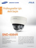 SND-6084R - Mavi Güvenlik