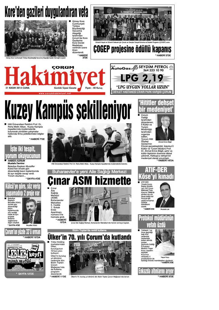 21 Kas 375m Qxd Corum Hakimiyet Gazetesi