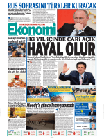 10 ağustos 2014 - Ekonomi Gazetesi