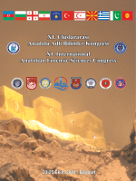 Kongre Kitapçığı - Adli Bilimler Enstitüsü