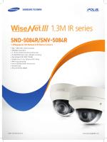 1.3M IR series - Samsung Techwin UK