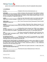 konut finansmanı sistemi kapsamında tüketici kredisi sözleşmesi 1