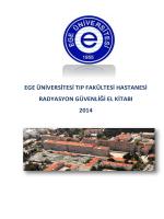 ege üniversitesi tıp fakültesi hastanesi radyasyon güvenliği el kitabı