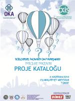 Proje Kataloğu - Orta Karadeniz Kalkınma Ajansı