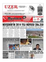 GURURUMUZ OLDU - Nevşehir Muşkara Haber
