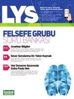 LYS Felsefe Grubu Soru Bankası