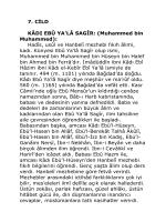 Dr. Enver Oren - Islam Alimleri Ansiklopedisi 07 Cilt_kindle
