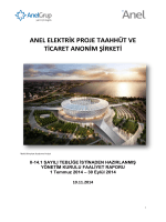 1- ANEL Faaliyet Raporu 9M2014