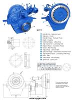 U-11 Hidrolik Deniz Şanzımanı - Uygar Hidrolik Deniz Şanzımanları