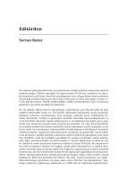 Editörden - Eleştirel Psikoloji