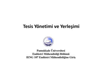19.12.2014 - Pamukkale Üniversitesi