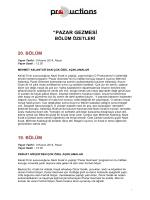 """PAZAR GEZMESİ - D Productions"