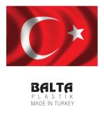 P L A S T İ K MADE İN TURKEY