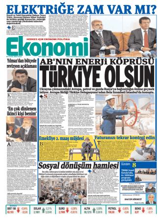07 eylül 2014 - Ekonomi Gazetesi