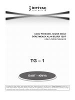 TG – 1 - İhtiyaç Yayıncılık