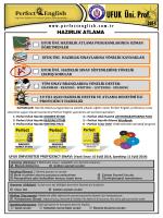 ufuk üniversitesi hazırlık atlama güncel broşürü 2014