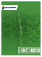 Jinyu Fiyat Listesi 2014