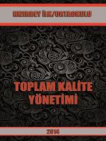 Toplam Kalite Yönetimi - Milli Eğitim Bakanlığı