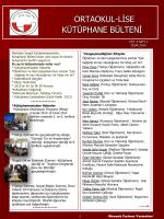Ocak 2014 - ODTÜ Geliştirme Vakfı Okulları