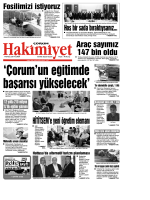 (19 eyl\374l.qxd) - Çorum Hakimiyet Gazetesi