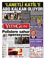 Gazetemiz - Yedigün Gazetesi