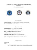 2. ULUSAL FELAKET KURBANLARININ KİMLİKLENDİRİLMESİ (F2K)