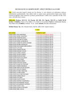 Müfredat: Bakara 103-112, Âl-i İmrân 101-109, Âl-i İmrân 130-139