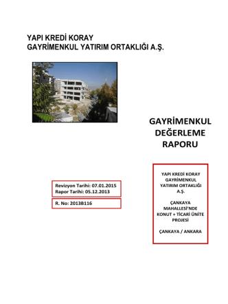 Ankara - Emlak Kulisi