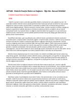 AEP108 - Elektrik Enerjisi İletim ve Dağıtımı Öğr.Gör. Nevzat SOLMAZ