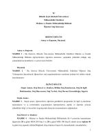 staj klavuzu ve formları - Bilecik Şeyh Edebali Üniversitesi Makine