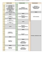 PlasmaTECH 2014 Program AT A GLANCE