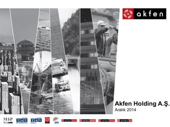 Akfen Holding Sunumu Aralık 2014