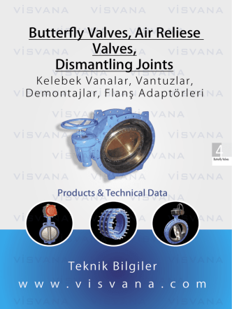 Butterfly Valves, Air Reliese Valves, Dismantling Joints