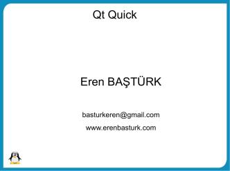 09. Qt Quick