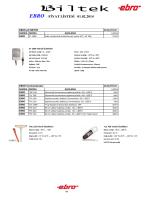 EBRO FİYAT LİSTESİ 01.02.2014 - Biltek Bilgisayar Teknolojisi