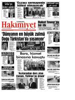 (22 eyl\374l.qxd) - Çorum Hakimiyet Gazetesi