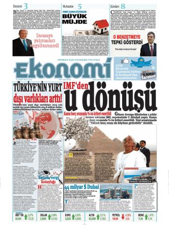 21 şubat 2014 - Ekonomi Gazetesi